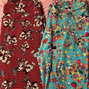 Lularoe Disney leggings. TC. Mickey & friends